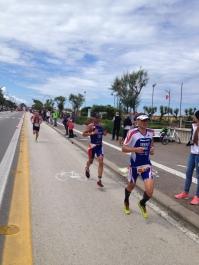 running with world champion