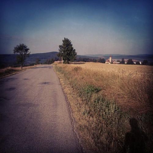 ovako izgleda taj dio Češke (sa vožnje dan nakon utrke)
