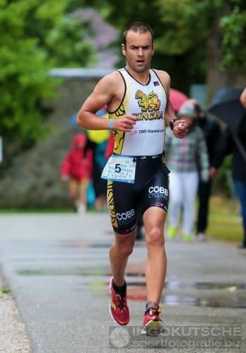 Prva utrka s kojom sam bio zadovoljan. Chiemsee triathlon - 3. mjesto