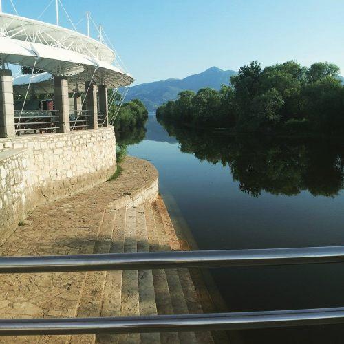 Ušće Plavnice u Skadarsko jezero