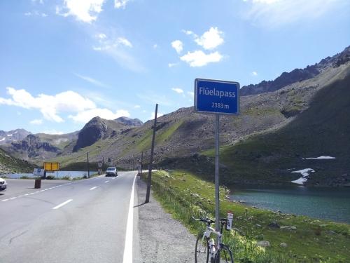 Fluela pass - 13km 7%