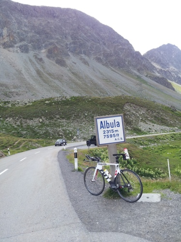 Albula pass - 9km 7%
