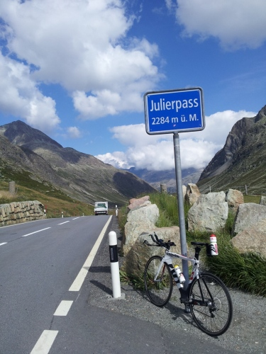 Julier pass - 7 km, 6% nagib
