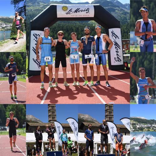 Sprint triatlon u St. Moritzu gdje sam bio na pripremama. Mala utrka u sklopu priprema i drugo mjesto iza Andreasa Dreitza
