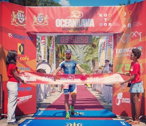 Pobjeda na prvom izdanju utrke u Kotoru. Na biciklu sam napravio nedostižnu prednost pa sam se mogao opustiti na trčanju